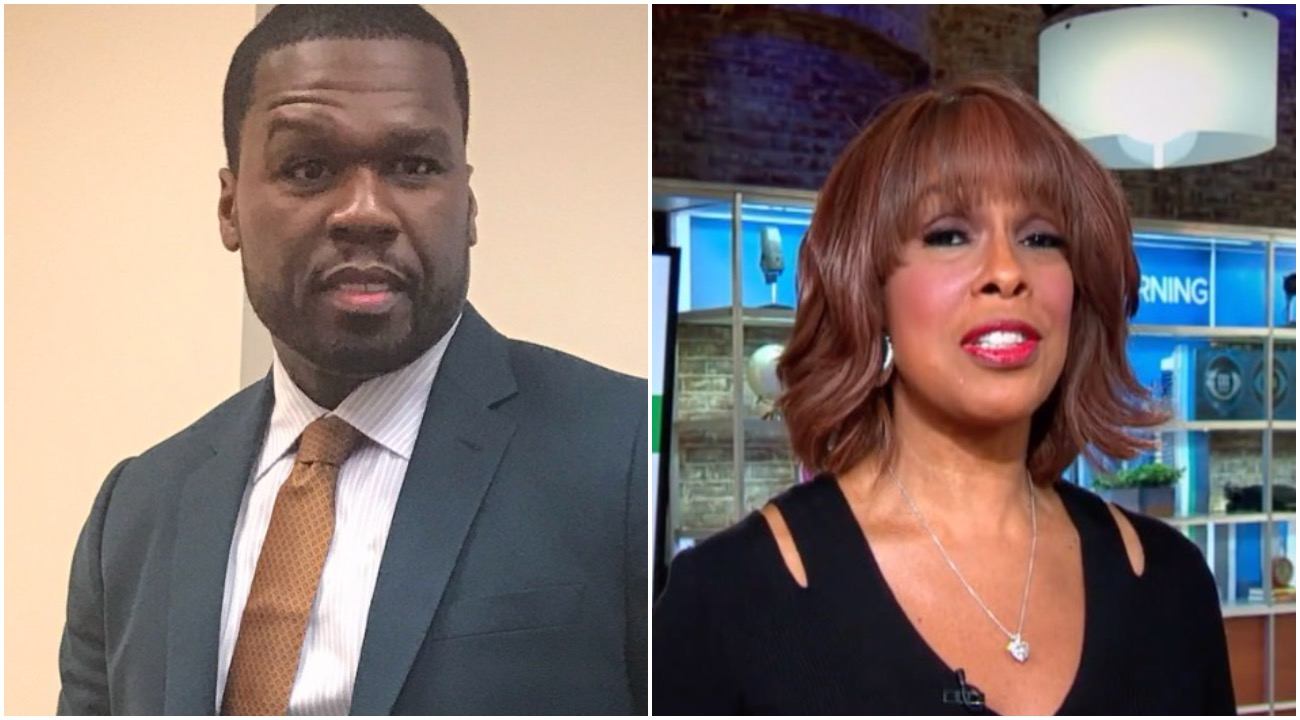 50 CENT WANTS ANSWERS WHY GAYLE KING IS ATTACKING KOBE BRYANT