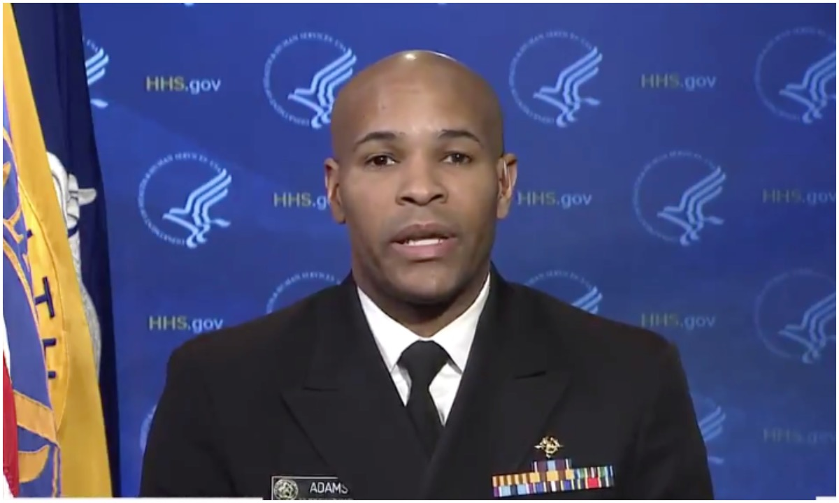 US Surgeon General Issues Urgent Warning: This Week It's Gonna Get Bad; Every Single Second Counts