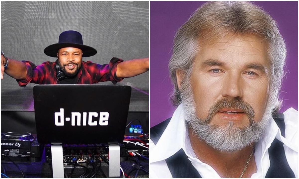 Legendary Bronx DJ D-NICE Honors Late Country Singer 'OG' KENNY ROGERS On The 1s & 2s